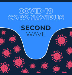 Covid19-19 second wave graph showing magnitude vector