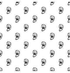 cut spleen pattern seamless vector image