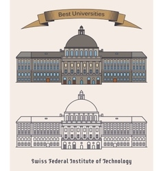 ETH Zurich Swiss federal institute of technology vector