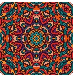 festive colorful ethnic tribal pattern vector image