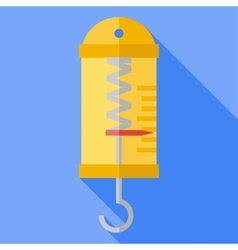 Flat physics dynamometer vector