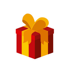 gift box isometric desig vector image