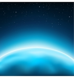 Planet space background vector