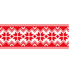 Scandinavian national ornament vector