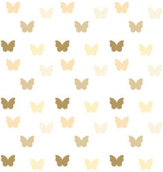 Seamless colorful butterfly pattern vector image