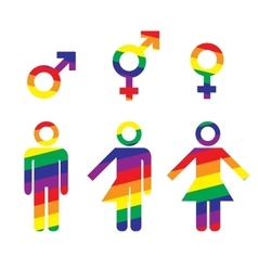 Transgender transsexual concept vector image