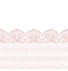 lace border invitation card vector image
