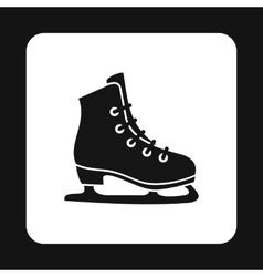 Skating icon in simple style vector image vector image