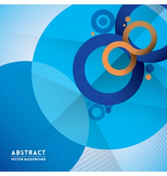 Abstract Infinity Symbol and Circle Shape Backgrou vector image vector image