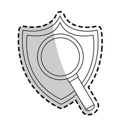 antivirus icon image vector image vector image