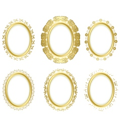 decorative frames - set vector image