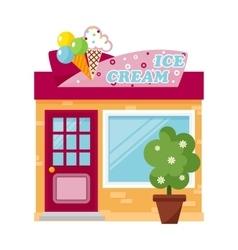 Shop facade vector image vector image