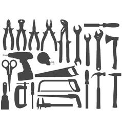 hand work tools vector image