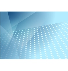 Abstract blue tech dotted background vector