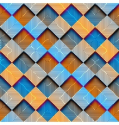 Abstract rhombus geometric with gradient effect vector
