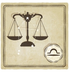 astrological sign - libra vector image