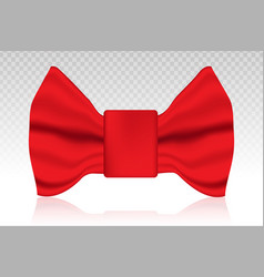 Bow tie or bowties fashion accessory flat icon vector