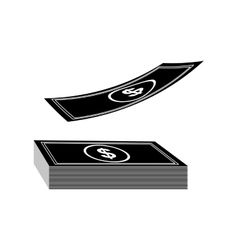 Cash money icon image vector