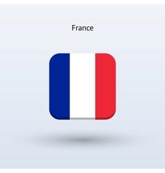France flag icon vector