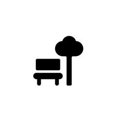 park icon vector image