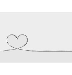 Patched heart vector