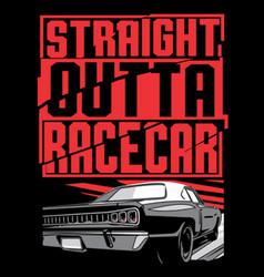 Race car vector