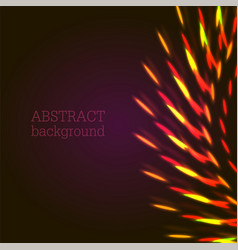 Red lights abstract background vector