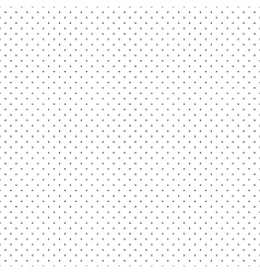 Black Dots White Background vector image vector image