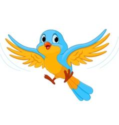 flying bird vector image vector image