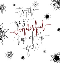 Wonderful time vector image vector image