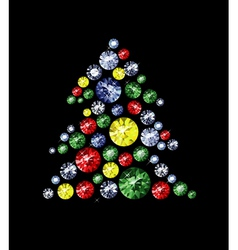 Diamond Tree vector image vector image