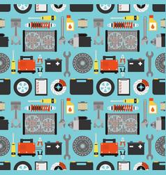 car service modern design flat vector image vector image
