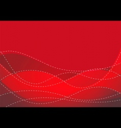 smooth maroon wave vector image