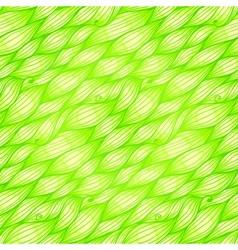 Green grass waves seamless pattern vector