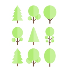 trees image vector image vector image