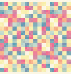 abstract colorful in square box pattern background vector image