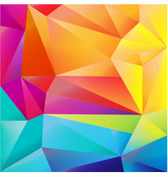 Bright origami background vector
