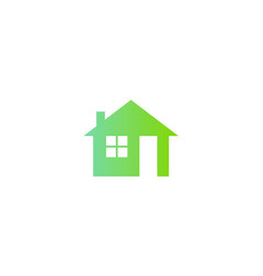 home icon business logo vector image