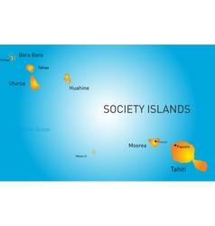 Society island vector