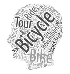 There s A Bike For Every Rider In Spain text vector image