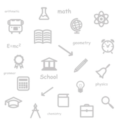 education background vector image vector image