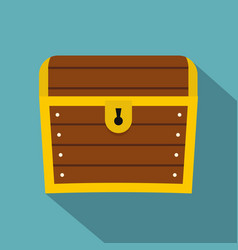 chest icon flat style vector image