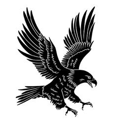Eagle 006 vector image vector image