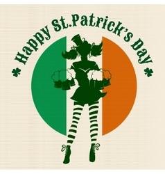 Saint Patricks Day Party Design vector image vector image