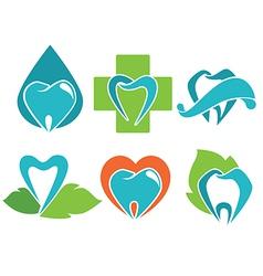 health teeth vector image