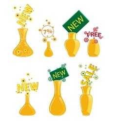 new vase icon vector image