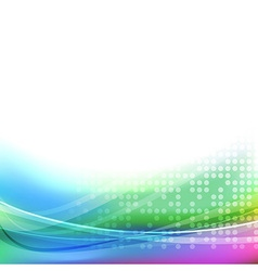 Abstract bright colorful transparent background vector image