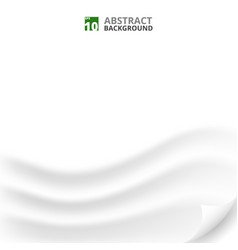 abstract of clear white paper background details vector image