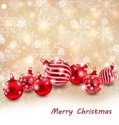 Christmas Abstract Shimmering Background vector image