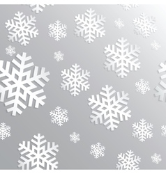 Decorative abstract snowflake Seamless vector image